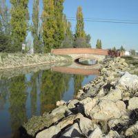 Puente sobre el Canal del Duero, Laguna de Duero- (Valladolid), Вальядолид