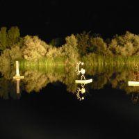 Esculturas flotantes en la laguna (2006), Вальядолид