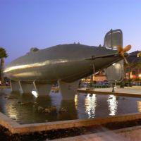 Submarino de Isaac Peral. 1º del Mundo. Cartagena., Картахена