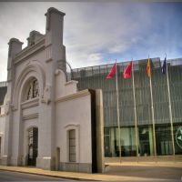Cartagena: Antigua puerta del cuartel de Instrucción de Marinería, Картахена