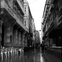 Calle Mayor. Llueve, Картахена
