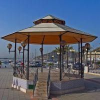 Kiosco de música en el Muelle de Alfonso XII, Картахена