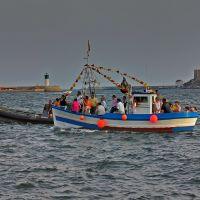 Bocana del puerto desde el espigón de la Marina, Картахена