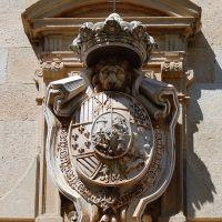 Escudo Palacio de la Audiencia de Cáceres (hoy del Tribunal Sup. de Justicia de Extremadura), Касерес