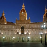 TOWN HALL OF  A   CORUÑA.  Dedicated to my friend kostas, Ла-Корунья