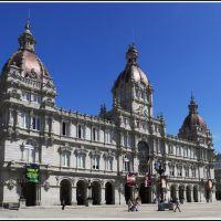 Plaza Maria Pita A Coruña  (Para ti Jesus), Ла-Корунья