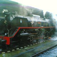 Locomotora de vapor en La Coruña, Ла-Корунья