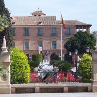 delante del ayuntamiento - Murcia, Мурсия