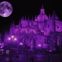 la luna segoviana, Сеговия