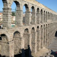 Roman aqueduct of Segovia, Сеговия