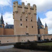 Segovia- Alcázar, Сеговия