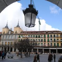 SEGOVIA---Plaza Mayor, Сеговия