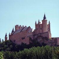 Spain, near Segovia, August 1988, Сеговия