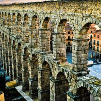 The Segovia Aqueduct  -------- First Prize in August 2013 / Panoramio Contest, Сеговия