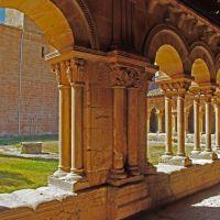 Detalle del claustro de San Pedro en Soria, Сория