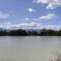 Riu Ebre desde el Passeig de Ribera, Тортоса