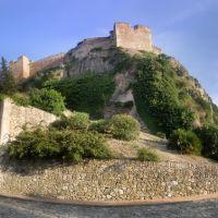 Vistes del Castell de la Suda desde el Passeig de Ronda, Тортоса