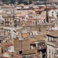 Un munt de teulades., Тортоса