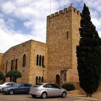 Castillo de San Juan o de la Zuda, Tortosa, Tarragona, Cataluña, España, Тортоса