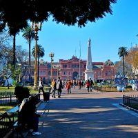 Buenos Aires -Plaza de Mayo-Casa Rosada, Азул