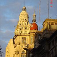 Barolo dorado (Avda. de Mayo con San José), Азул