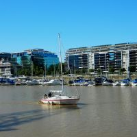 Yacht Club, Puerto Madero, Buenos Aires, Азул