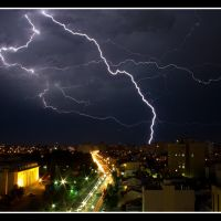 tormenta en bahia, Байя-Бланка