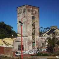 Ex-Bodegas Arizu, fábrica abandonada desde 1987, Байя-Бланка
