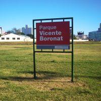 Parque Vicente Boronat, Barrio La Falda, Байя-Бланка