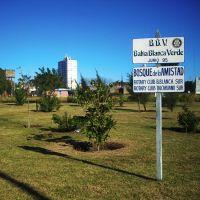 Bosque de la Amistad, Plaza del Algarrobo, Barrio Tiro Federal, Байя-Бланка