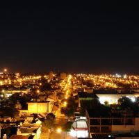 Vista nocturna de Bahía Blanca (12/02/2006), Байя-Бланка