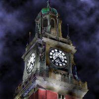 clocks tower (by night...), Буэнос-Айрес