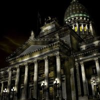 palacio del congreso nacional  (by night...), Буэнос-Айрес