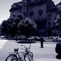 bicicletas en la diagonal, Ла-Плата