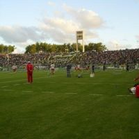estadio marplatense aldosivi copando la tribuna, Мар-дель-Плата