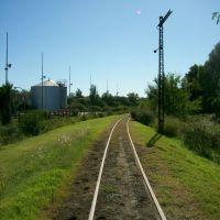 Semáforo mecánico con los cables cortados - FCGMB, Мерседес