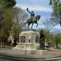 Mercedes - Monumento San Martin ( www.alepolvorines.com.ar ), Мерседес