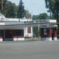 entrada a la base, Пунта-Альта