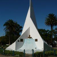 Monumento en el centro de la plaza de Punta Alta, Пунта-Альта
