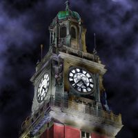 clocks tower (by night...), Тандил