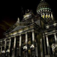 palacio del congreso nacional  (by night...), Тандил
