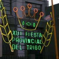 Cartel Fiesta del Trigo, Трес-Арройос