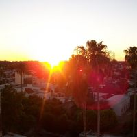 puesta de sol al oeste, Гойя