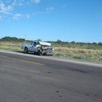 otro choque en la ruta del desierto, Женераль-Рока