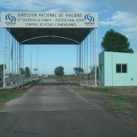 Puesto de Cargas - Direccion Nacional de Vialidad - 21º Dto La Pampa, Женераль-Рока