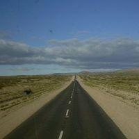 Camino del Desierto, La Pampa, Argentina.-, Женераль-Рока