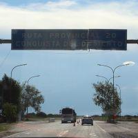 """Ruta """" Conquista del desierto"""" La Pampa, Женераль-Рока"""
