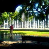 Mendoza,Argentina (plaza republica), Мендоза