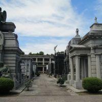 Cementerio El Salvador de Rosario, una necrópolis muy conservada, Росарио