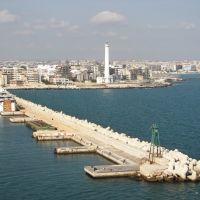 Bari - Hafeneinfahrt, Бари